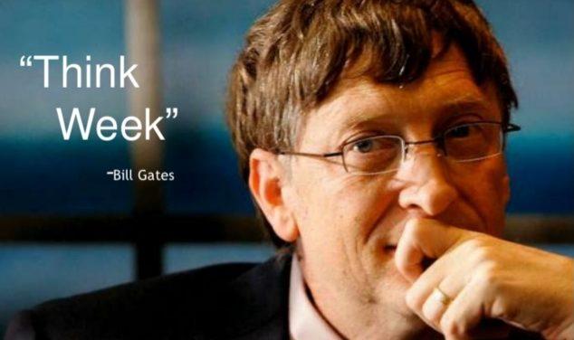 ビルゲイツのシンク・ウィーク(Think Week)